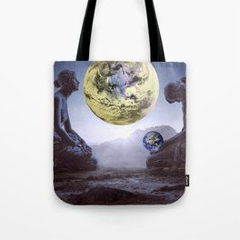 The World is in Our Hands Tote Bag