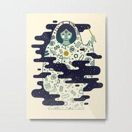 The Magician: Enchantment Metal Print