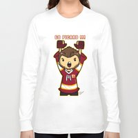 picard Long Sleeve T-shirts featuring Mini Picard by Kana Aiysoublood