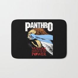 Panthro-Vulgar Display of His Power Bath Mat