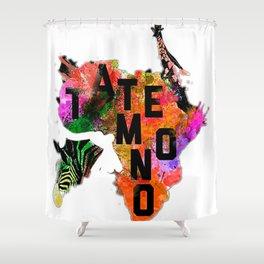 Tatemono Jungle Shower Curtain