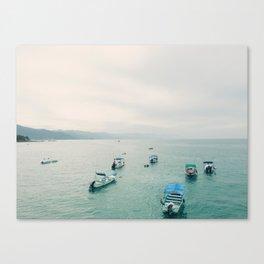 Bay of Banderes, Puerto Vallarta, Mexico Canvas Print