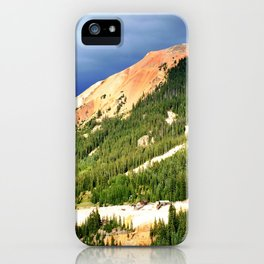 Sunlight Before the Storm, on the Gold Mines of Red Mountain iPhone Case