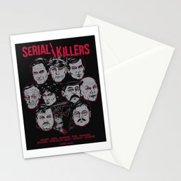 Möribundo Clothing - Serial Killers Stationery Cards