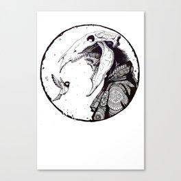 Dead hutsman Canvas Print