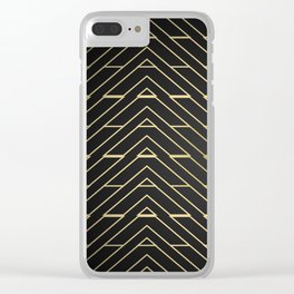 """""""3 Points Where 2 Lines Meet"""" Clear iPhone Case"""