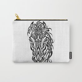 Tribal Horsey Carry-All Pouch