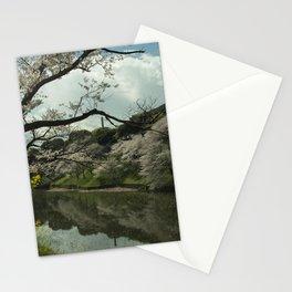 Tokyo Castle Sakura Stationery Cards
