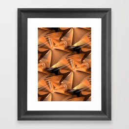 3D abstraction -17- Framed Art Print