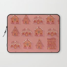 Gingerbread house pattern Laptop Sleeve