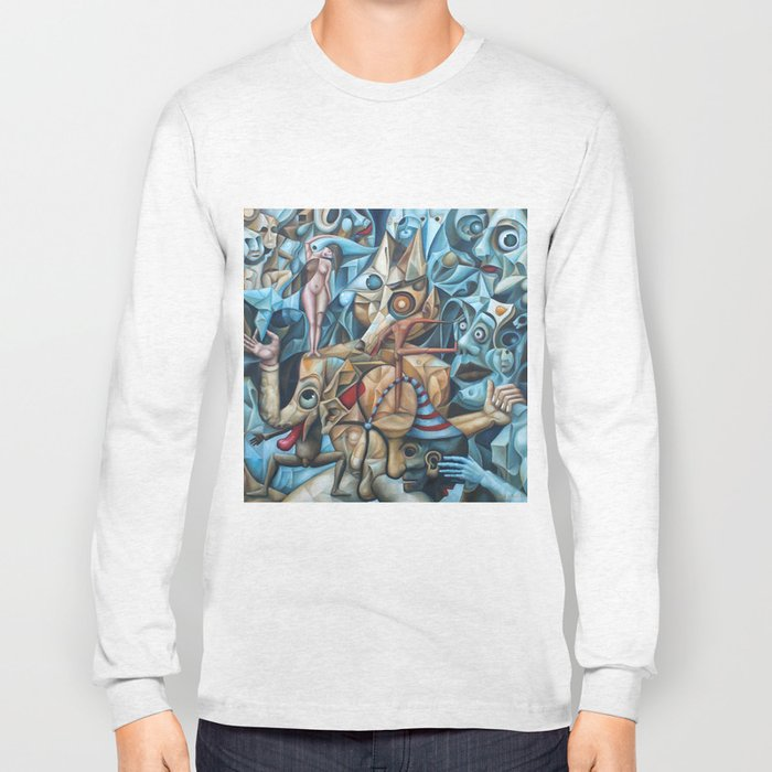 The Sea In The Fish Long Sleeve T-shirt
