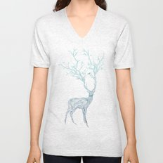 Blue Deer Unisex V-Neck