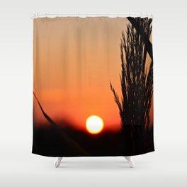 Through to the Setting Sun Shower Curtain
