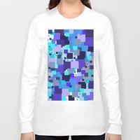 square Long Sleeve T-shirts featuring square by sladja