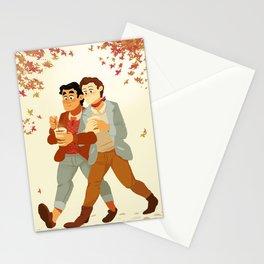 Fall Klaine Stationery Cards