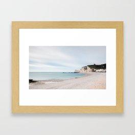 Étretat Framed Art Print