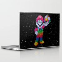 mario bros Laptop & iPad Skins featuring Mario Bros by Luna Portnoi
