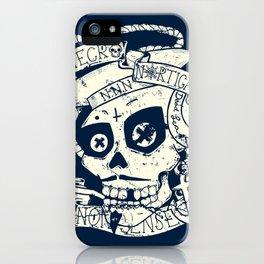 Necro Nautical Nonsense  iPhone Case