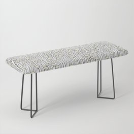 Enokitake Mushrooms (pattern) Bench