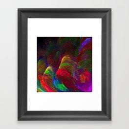 Tulip Field Framed Art Print