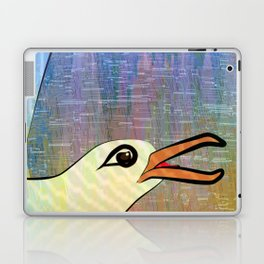 On the Cliffs with Jonathan Livingston Seagull Laptop & iPad Skin