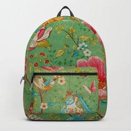 Grunge Floral Pattern 07 Backpack