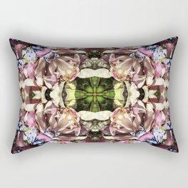 Magnolia Tree Overlay Rectangular Pillow