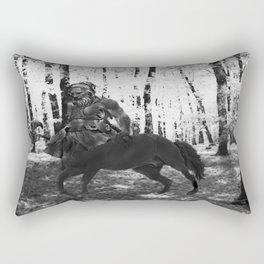 Centaur Axeman Rectangular Pillow