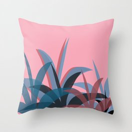 Candy Sunrise Throw Pillow