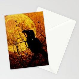 Harvest Moon Raven Stationery Cards