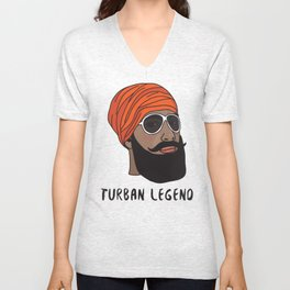 Turban Legend Unisex V-Neck