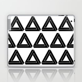 Impossible Geometry Triangle Modern Minimalism Laptop & iPad Skin