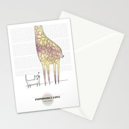 LOVE IN OUR OPINION - IMPOSSIBLE LOVE Stationery Cards