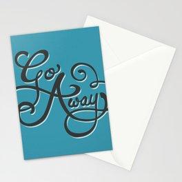 Go Away Stationery Cards
