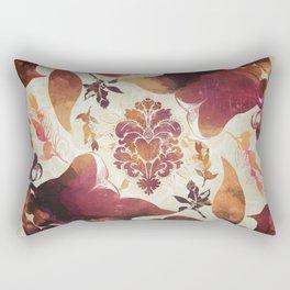 Floral Decor II Rectangular Pillow
