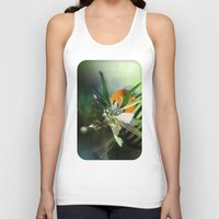 angel Tank Tops featuring Angel by Andre Villanueva