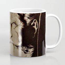 MAN UP B&W Coffee Mug