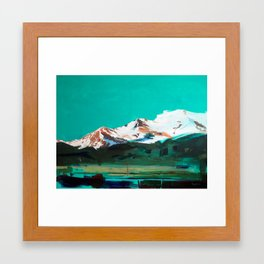 Holographic Valley (San Luis Valley) Framed Art Print