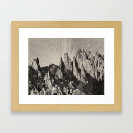 Pleasant Myth Framed Art Print