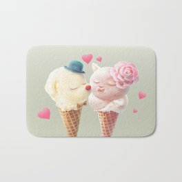 Ice Cream Love Bath Mat