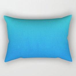 Tortuga - deep blue sea ombre painting abstract decor Rectangular Pillow