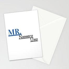 Mr Numero Uno Stationery Cards