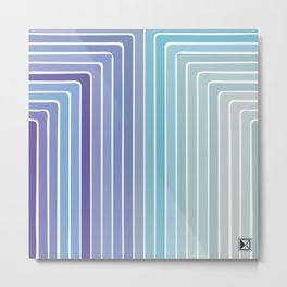 Modern Pattern No. 157 Metal Print