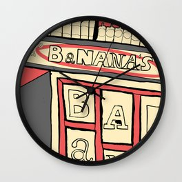 Banana's Wall Clock