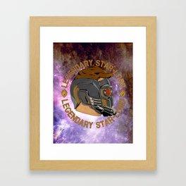LEGENDARY STAR-LORD Framed Art Print