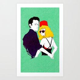 Joe and Juno Art Print