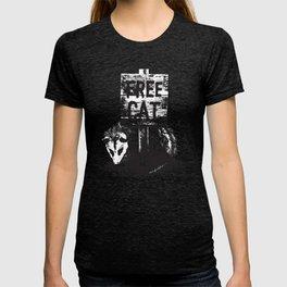 Free cat T-shirt