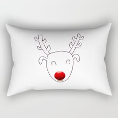 Rudolph Rectangular Pillow