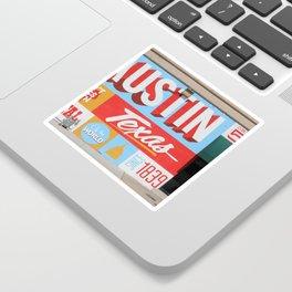 Austin, TX Sticker