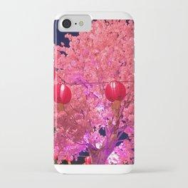 Lunar New Year Celebration- Tree and Lantern iPhone Case